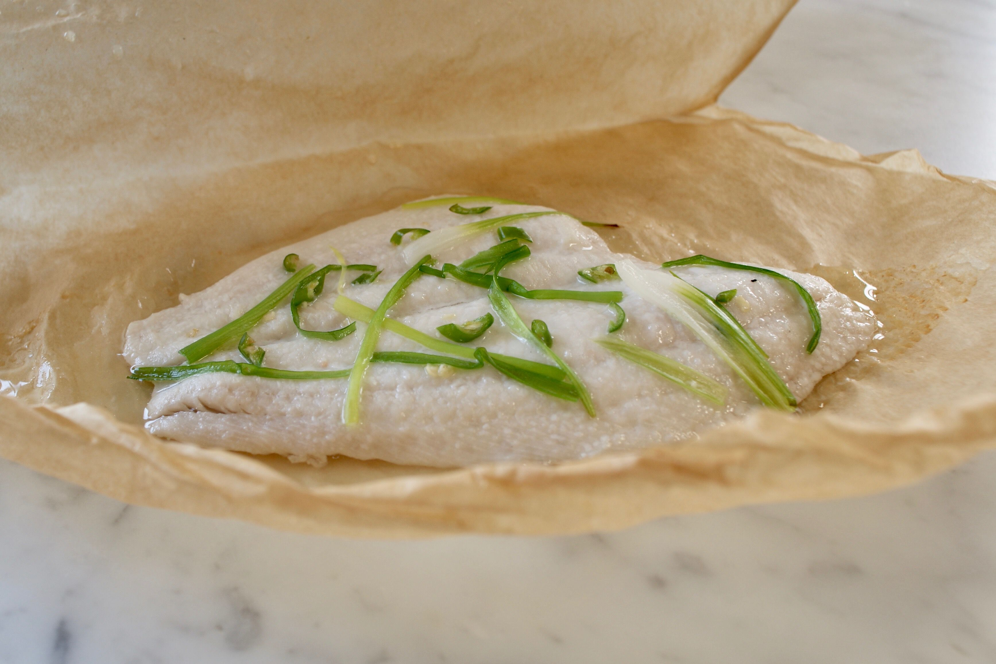 How to Bake Fish in Parchment or Foil
