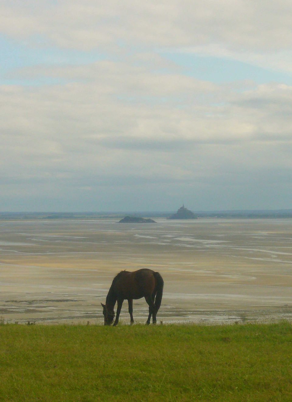 Mont St Michel in the far distance