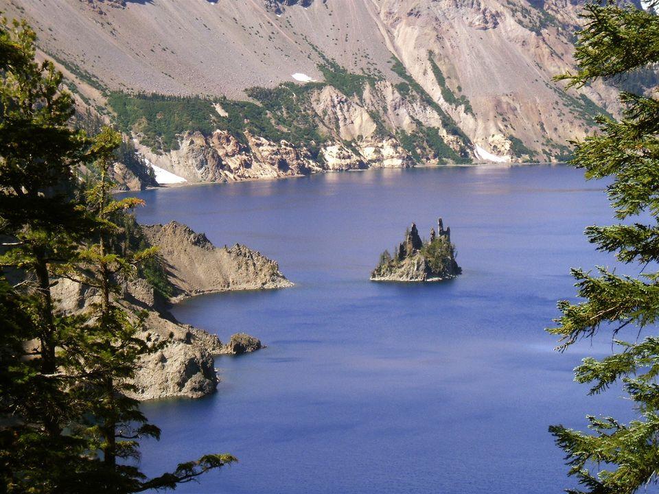 Phantom Ship, Crater Lake National Park, Oregon