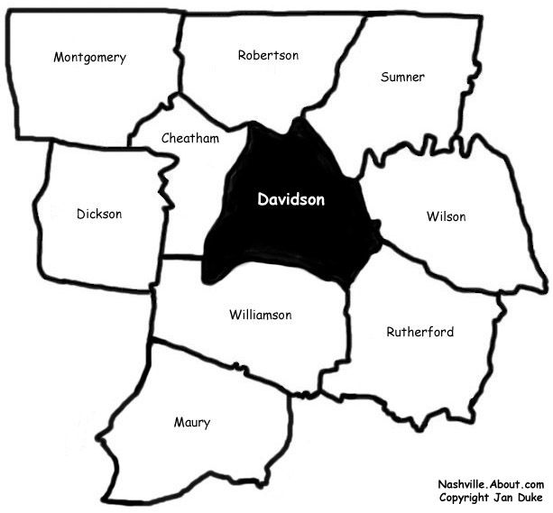 davidson county utilities in tennessee