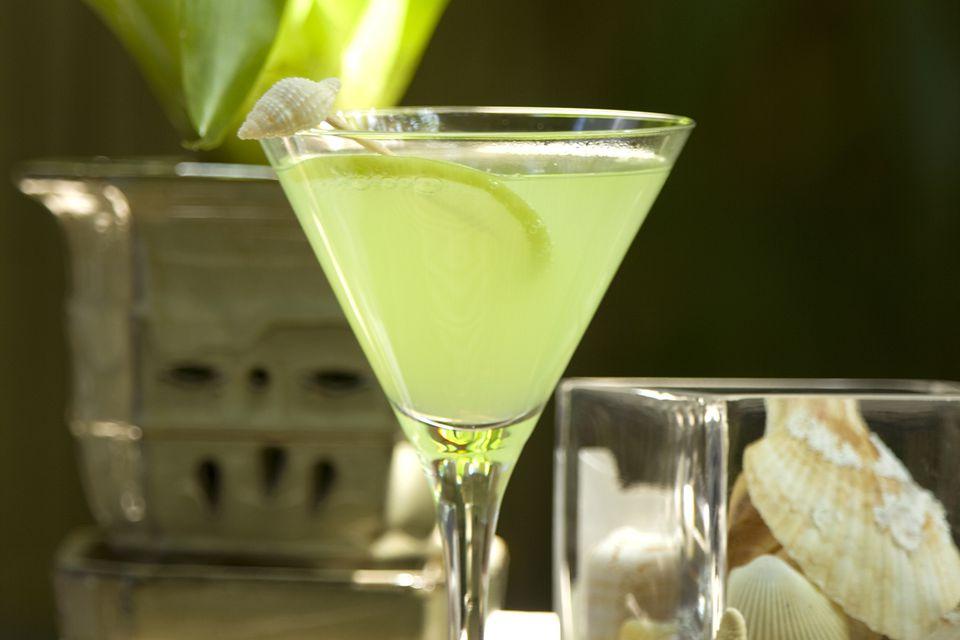 Melon Cucumbertini Cocktail