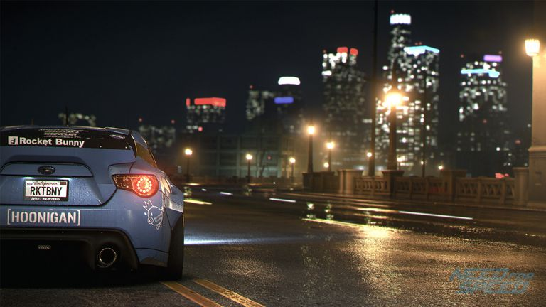 Need for Speed screen