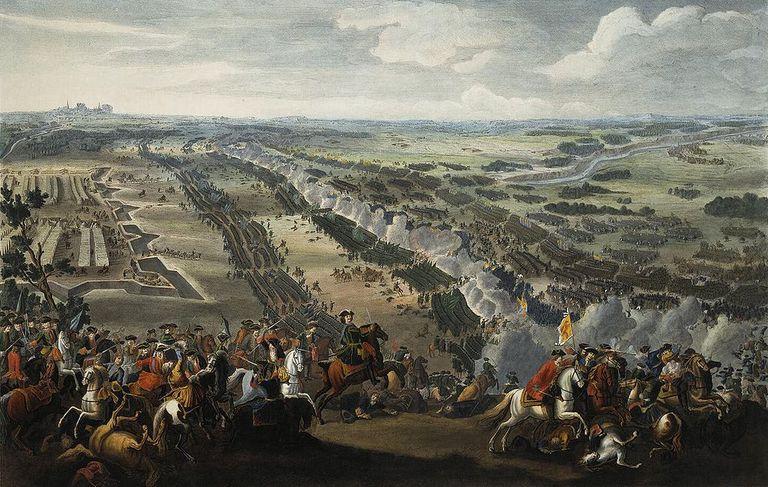 Fighting at Poltava