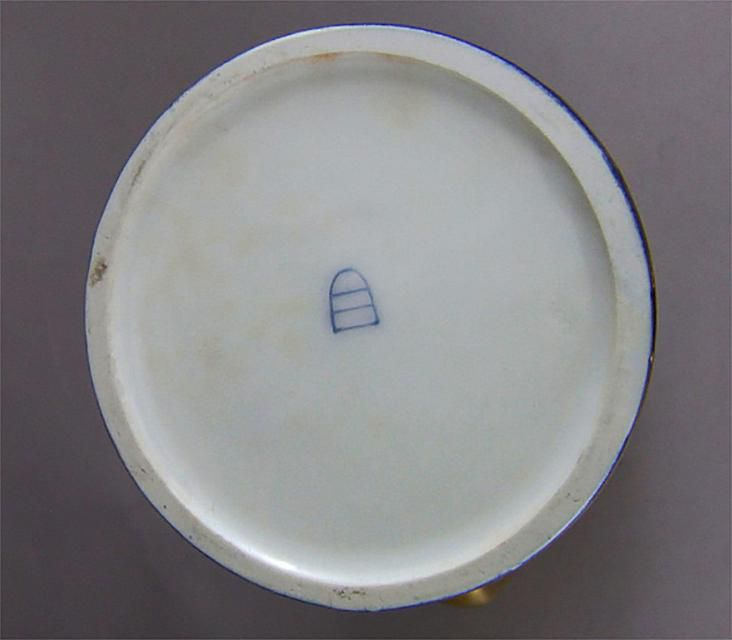 "Royal Vienna ""Beehive"" Mark on Antique Porcelain"