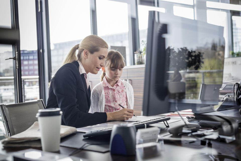 Follow these five tips on how to have a successful 'Bring Your Child to Work Day