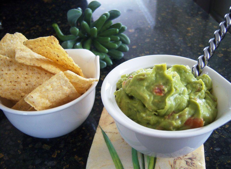 Gluten-Free Homemade Guacamole Recipe Image Teri Gruss