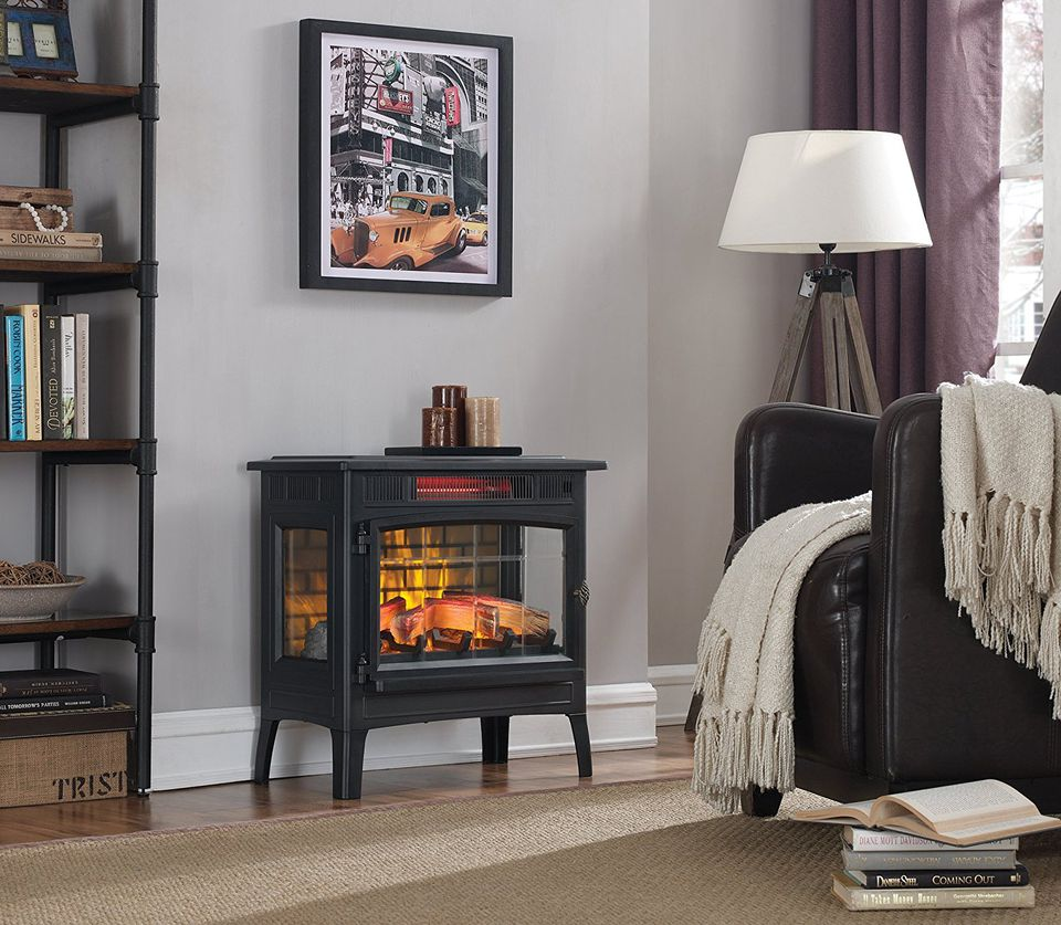 The 8 Best Electric Fireplace Heaters To Buy In 2018
