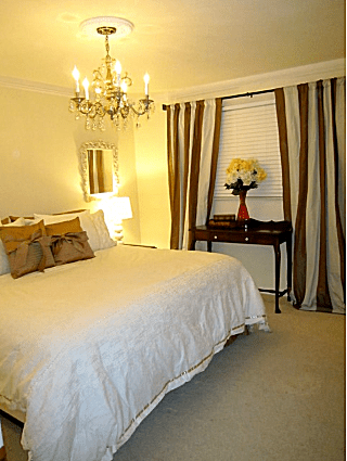 combine yellow with brown to add some romance - Yellow Bedroom Ideas