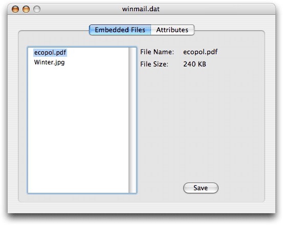 TNEF's Enough - Winmail.dat Decoder