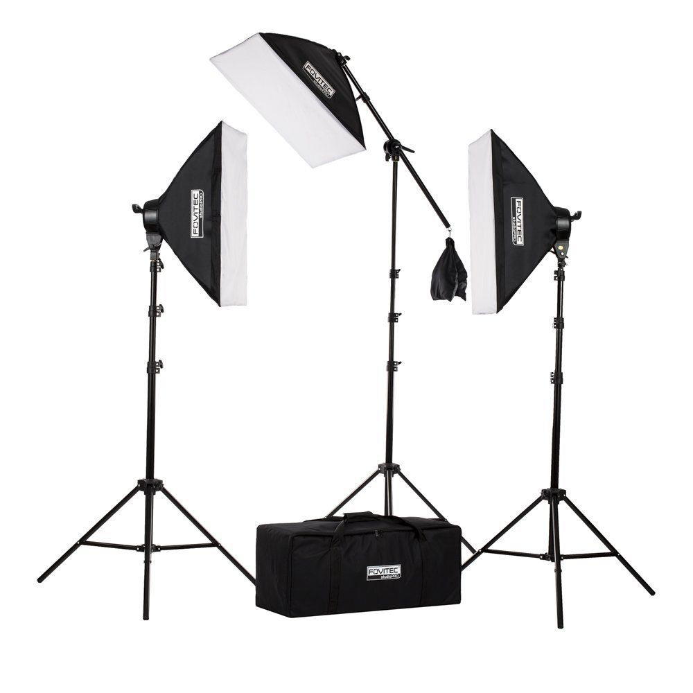 four grids photography for using only light studio lighting photographers portrait education setup