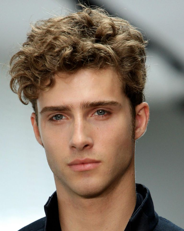 Mens Curly Hair Style Simple Having Trouble With Your Curly Hair