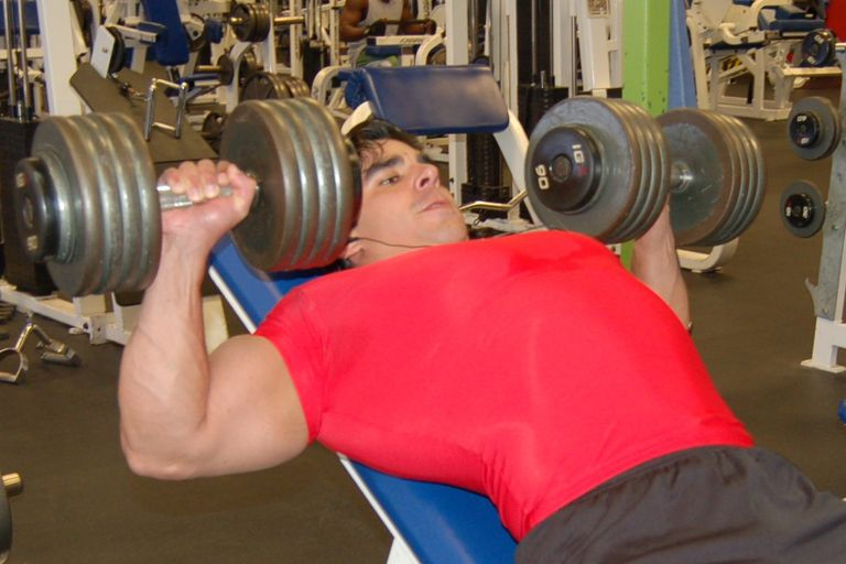 Incline Dumbbell Bench Press Exercise