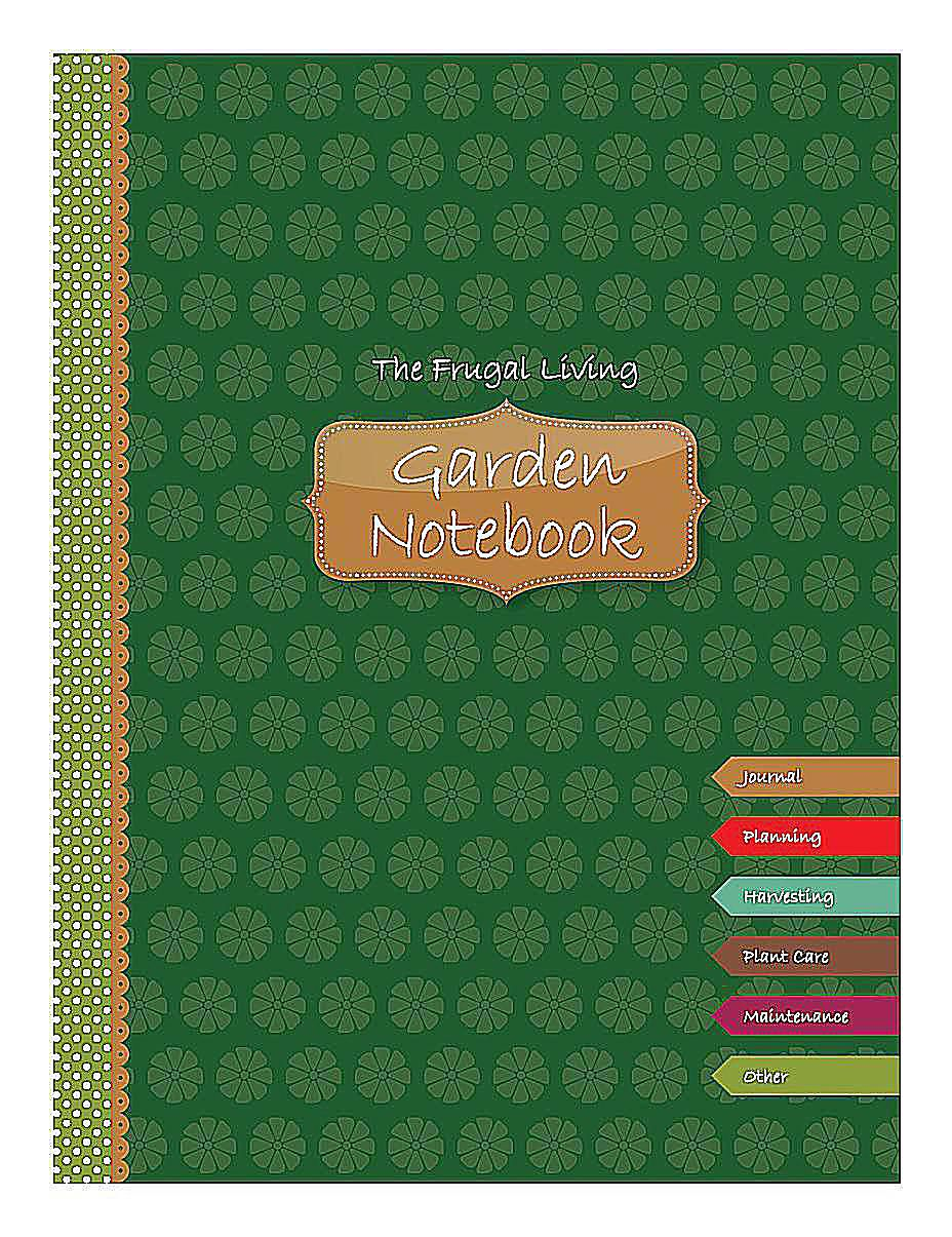 free printable garden notebook