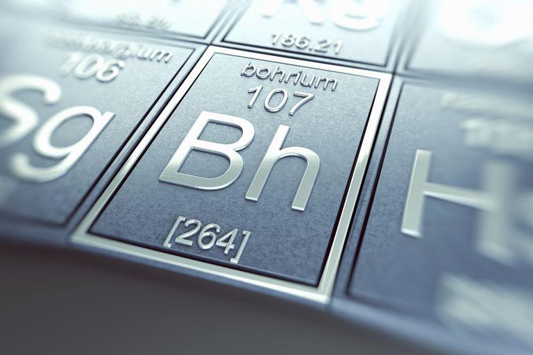 Bohrium is a radioactive metallic transition element.