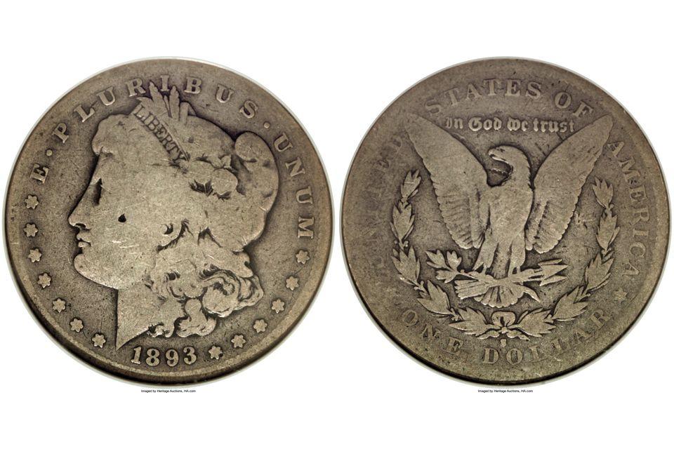 Morgan Silver Dollar Graded AG-3
