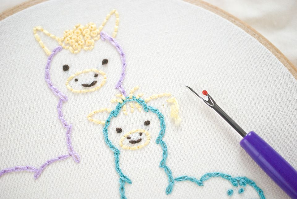 How to replace stitches without ruining your embroidery