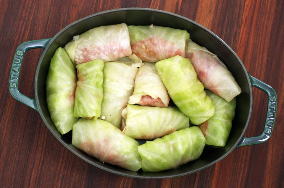 Cabbage Rolls to Bake