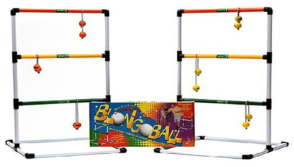 blongo ball or ladder ball is a fun multigenerational sport