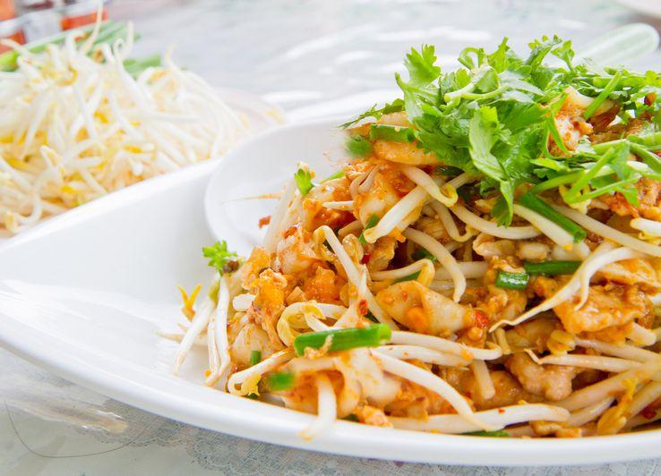 Plat végétarien dans le restaurant thai Samadhi à Berlin.