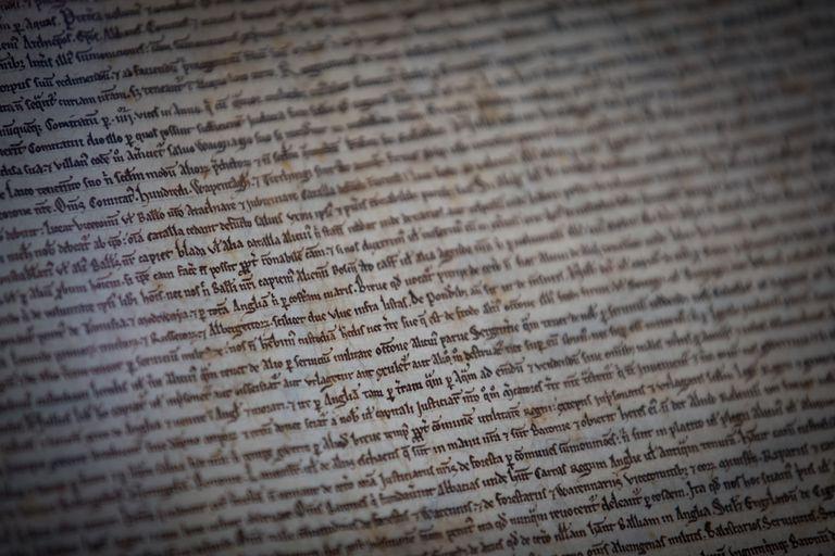 Text of Magna Carta