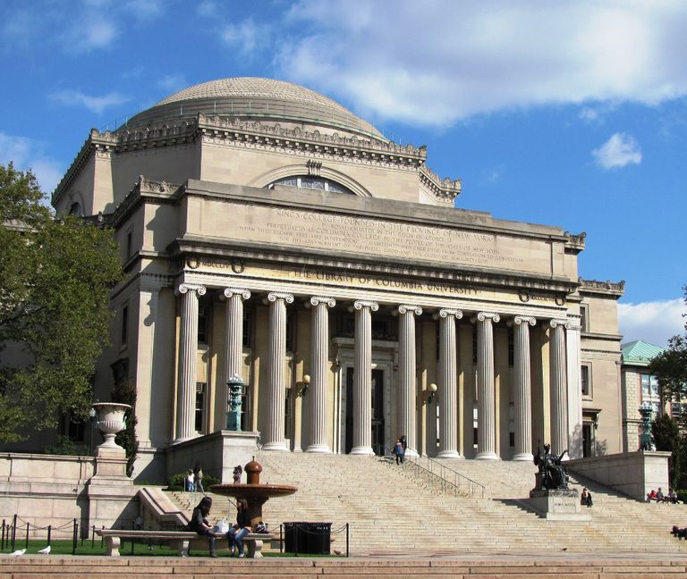 Low Library at Columbia