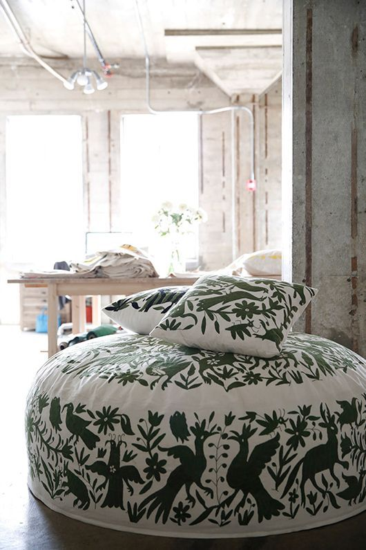 Design Geek: The Otomi Fabric Of Central Mexico