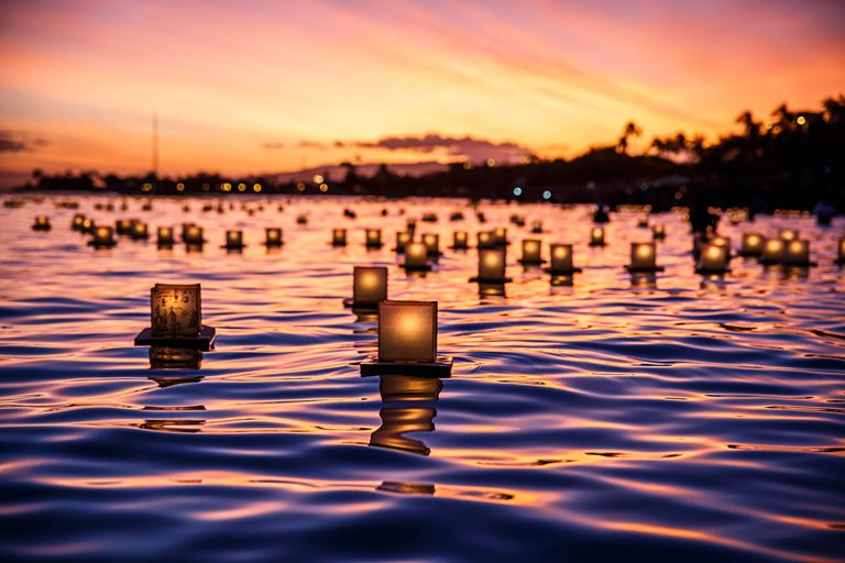 Japanese Floating Lantern