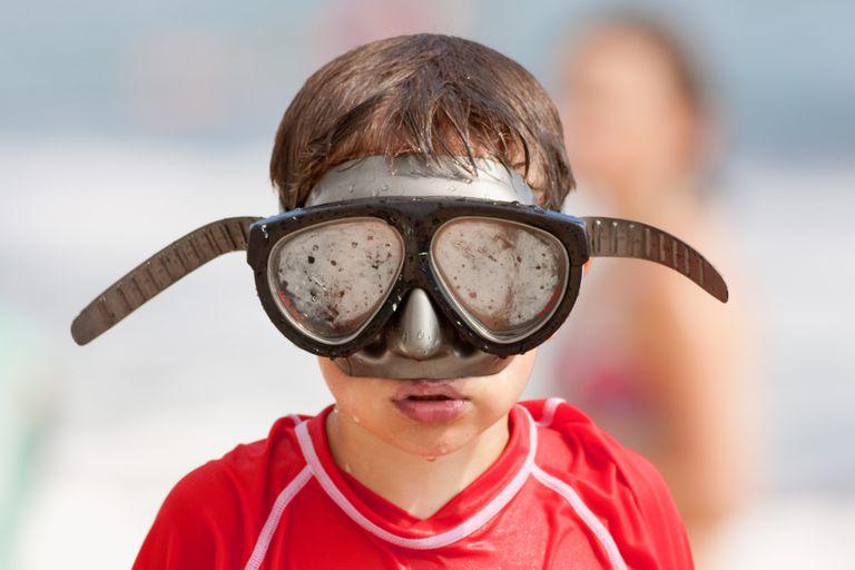 Foggy Scuba Diving Mask