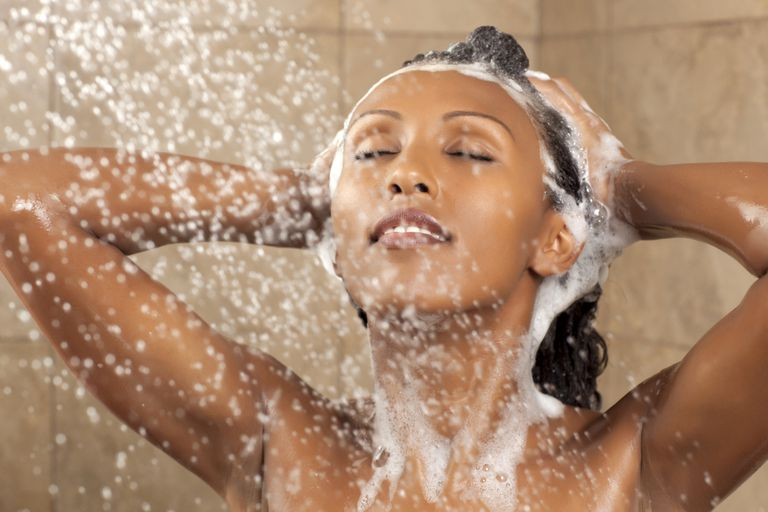 Avoid washing your hair right before relaxing it.
