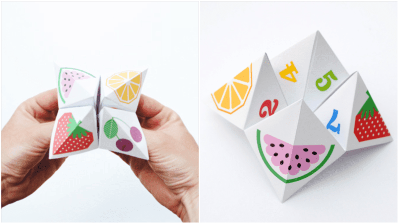 10 creative cootie catchers whats your fortune pronofoot35fo Images