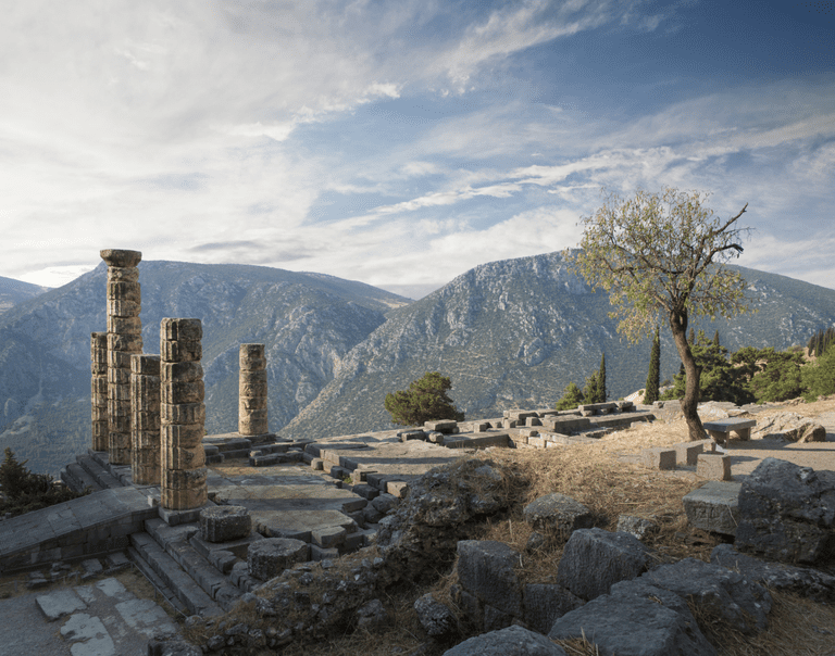 Ruins of Delphi, Greece