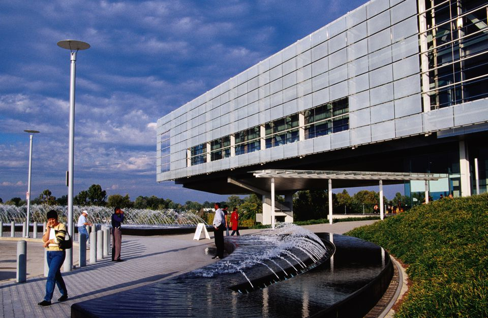 Clinton Presidential Library and Museum. Little Rock, Arkansas, United States, North America