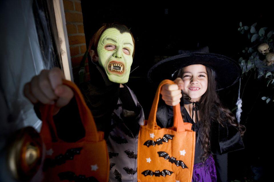 Kids Trick-or-Treating Adds to Halloween Fun