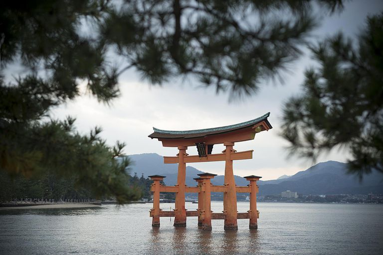 World Heritage Itsukushima Shrine