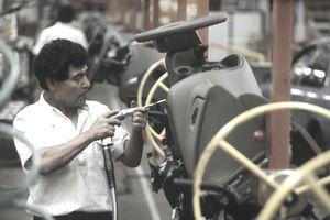 Auto assembly line, Mexico City, Mexico