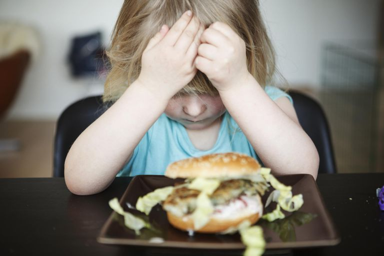 Child refusing to eat