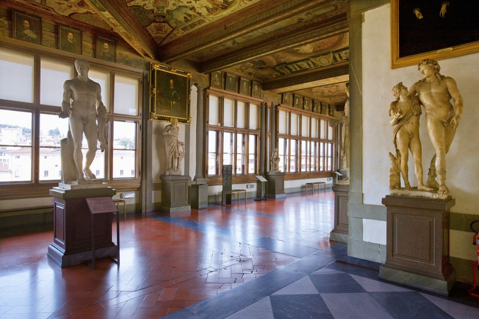 uffizi gallery photo