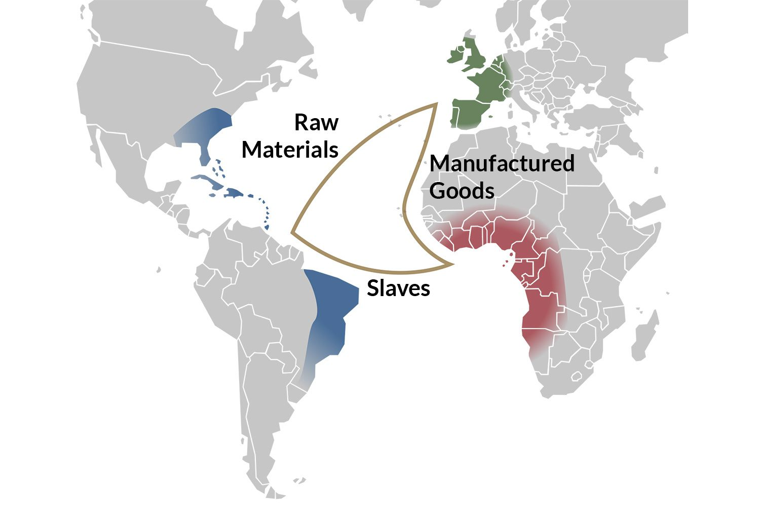 examples of triangular trade