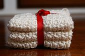 Sumptuous Hand-Crocheted Washcloths Add a Touch of Luxury to the Bathroom.