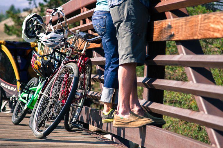 Bike riding in Breckenridge