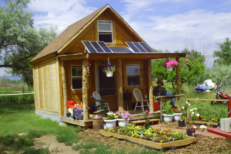 You can build this tiny house for less than 2 000 for Small home plans with cost to build