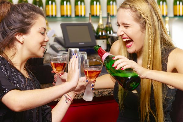 Girl ignores friend's boundaries with alcohol