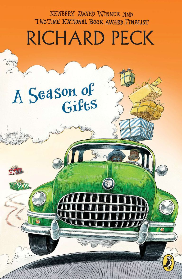 A Season of Gifts by Richard Peck - Book Cover