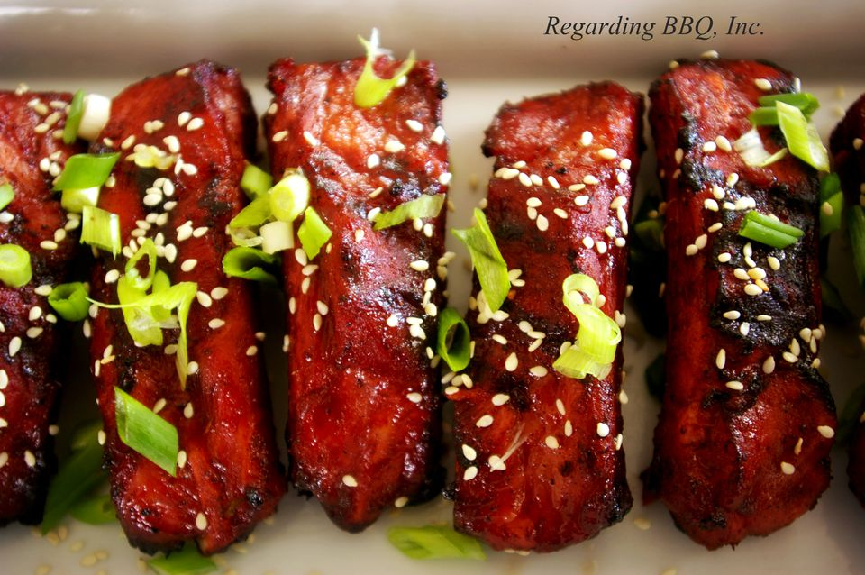 Asian style red ribs-5773