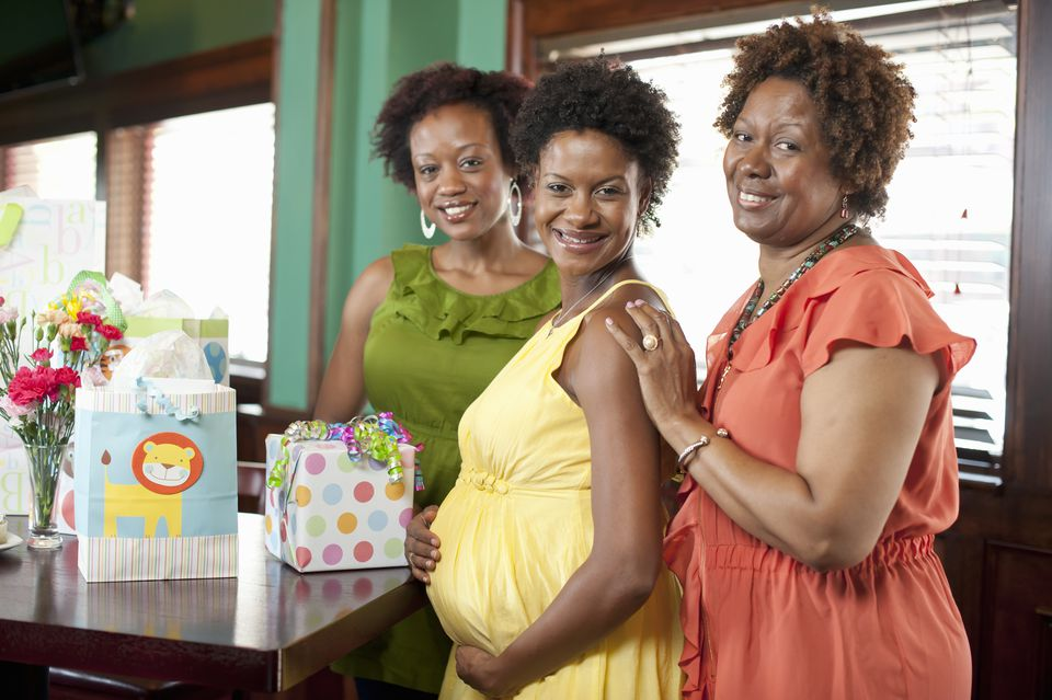 Women at Baby Shower