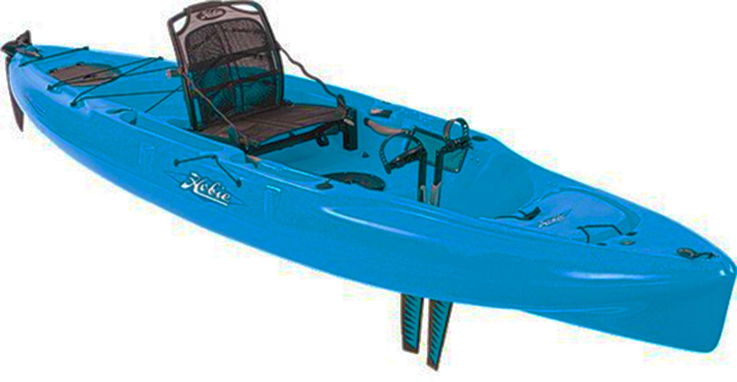 Hobie mirage drive kayaks a fishing machine for Hobie fishing kayak