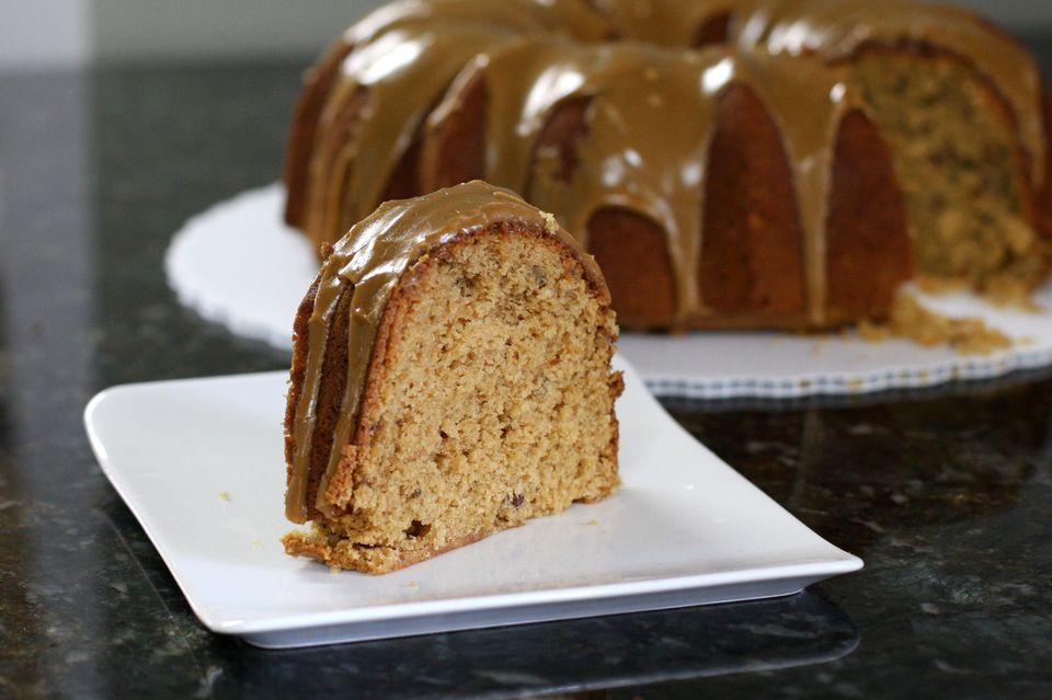 Fresh Apple Cake Recipe With Brown Sugar Topping - Brown sugar cake