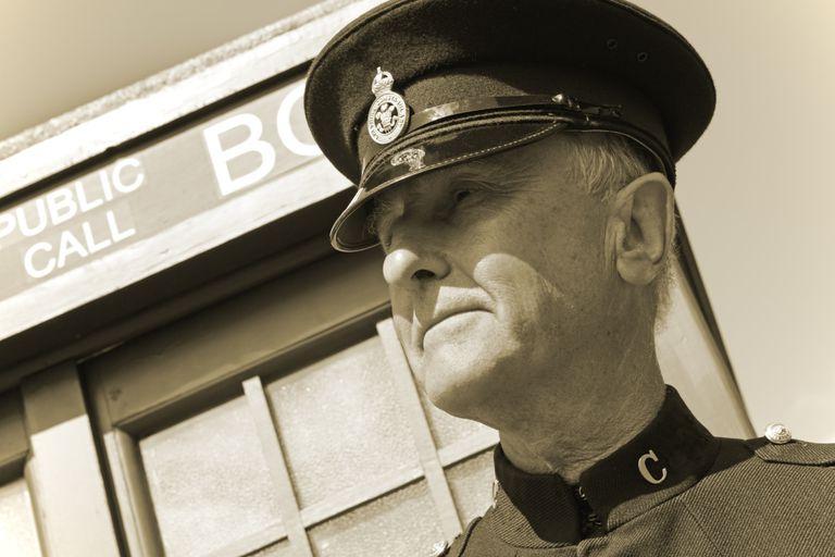 Older Police Officer