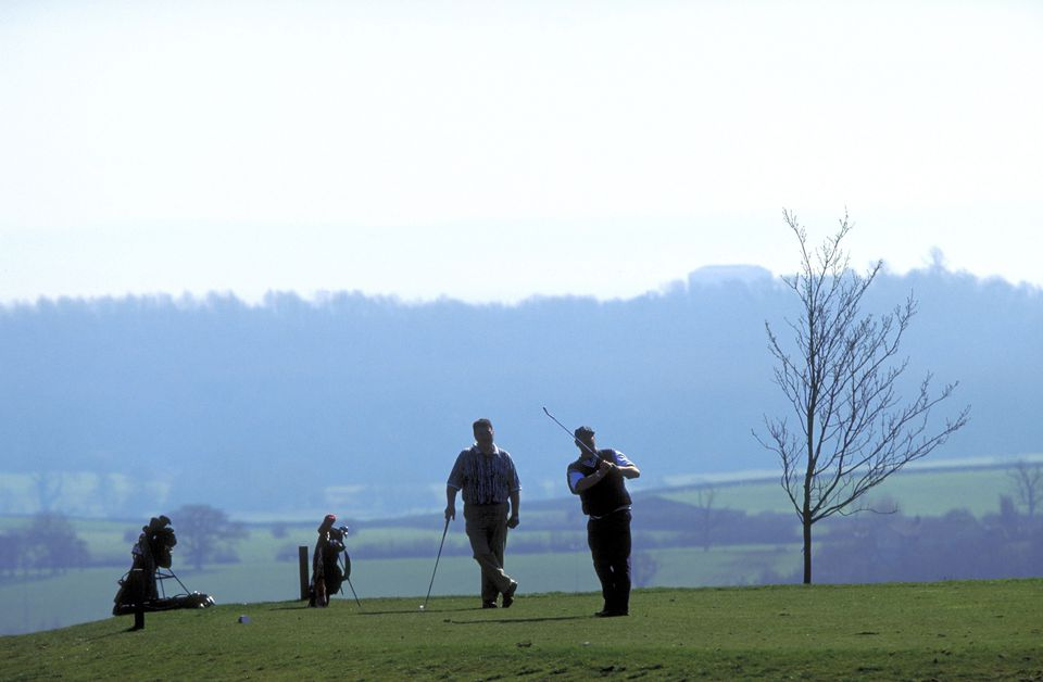 General Golf at Celtic Manor, Newport, Gwent, Wales
