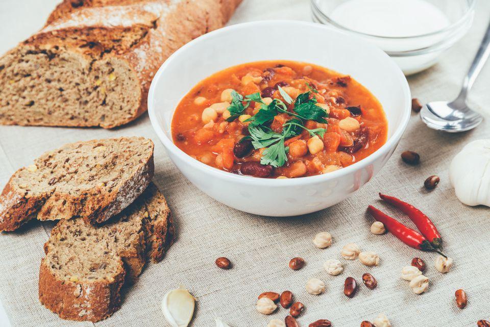Vegetarian Bean Cholent